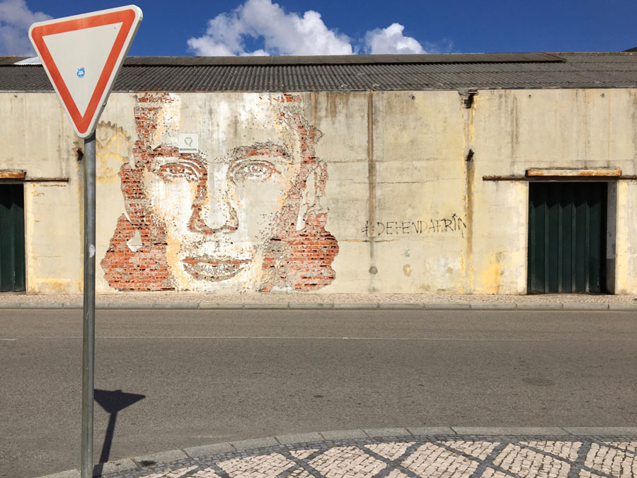 Roadtrip Portugal Street Art von VIHLS in Aveiro