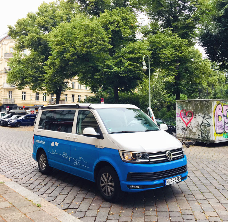 Roadtrip Kroatien der VW Camper
