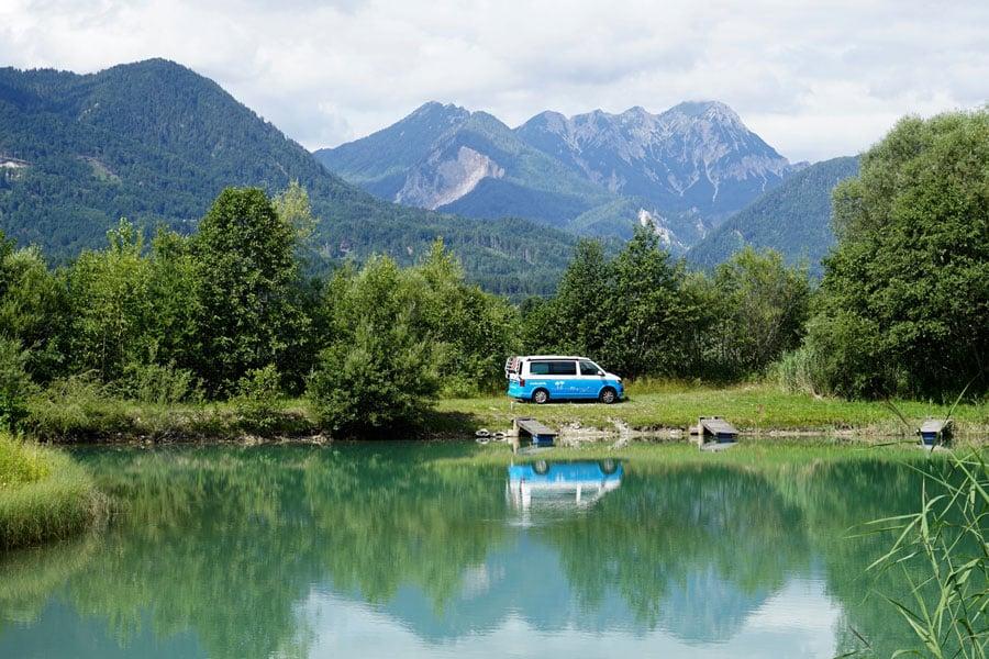 Roadtrip Kroatien erster Stopp in Österreich