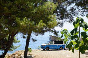 Roadrtip Kroatien Campingplatz Mala Milna Hvar