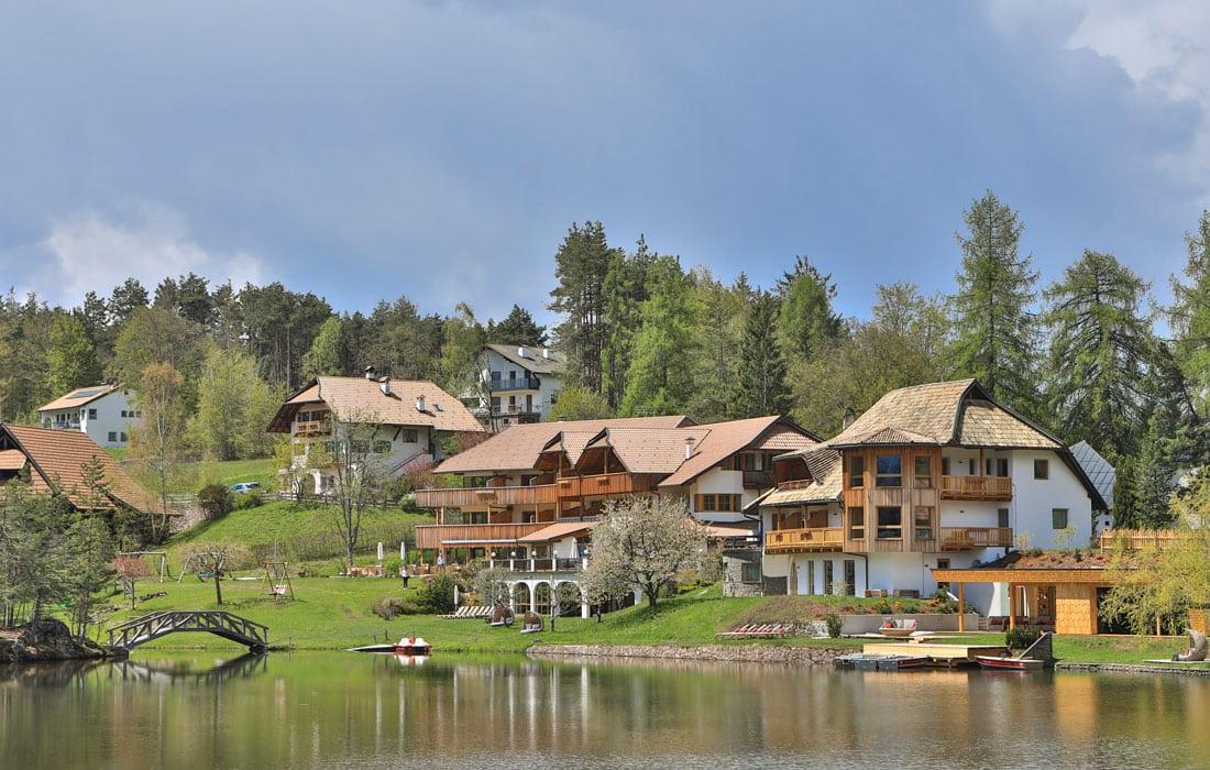 Seehotel in Südtirol