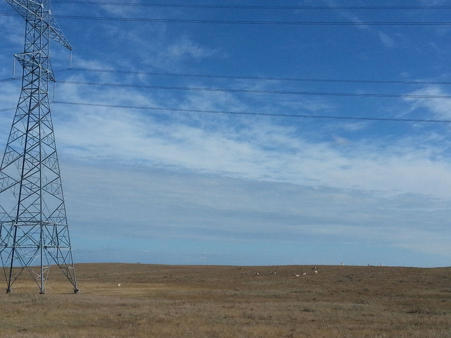 Landschaft Saskatchewan Kanada