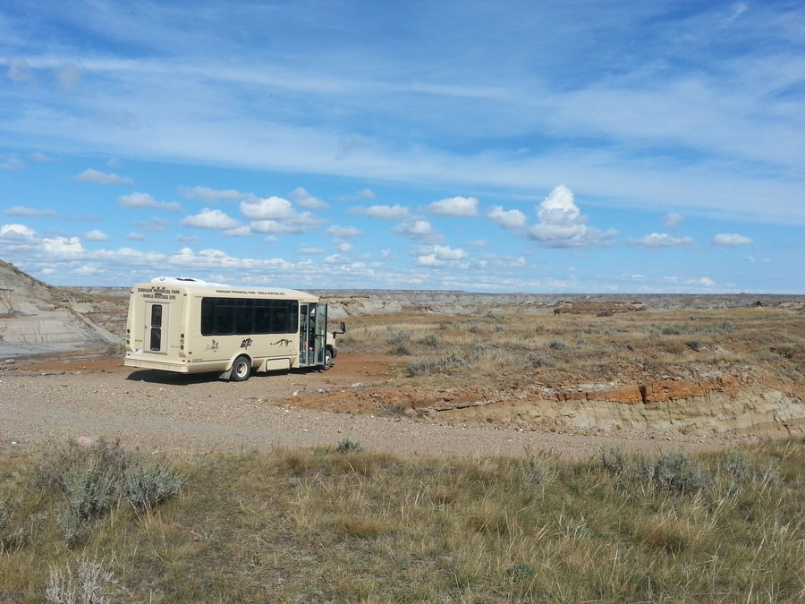Dinosaur Provincial Park in Saskatchewan