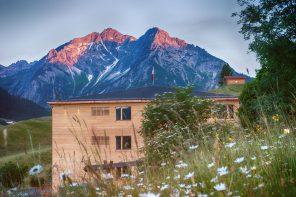 Naturhotel Chesa Valisa im Kleinwalsertal in Österreich