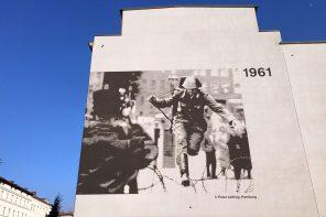 Berlin zu Fuß. Ein spannender Spaziergang entlang der Mauer.