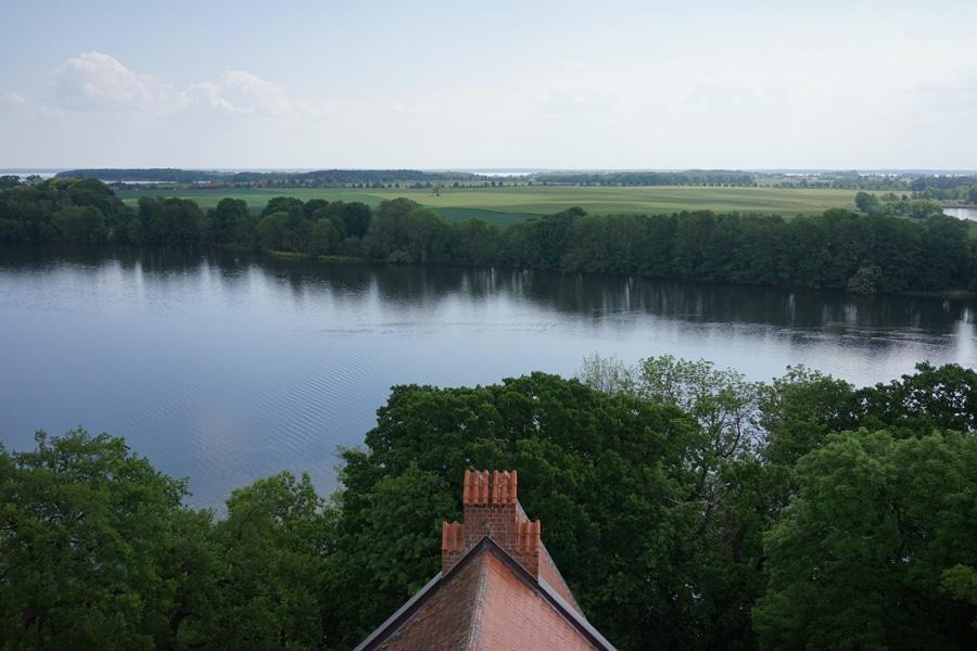 Ausblick Marienkirche Mecklenburgische Seenplatte