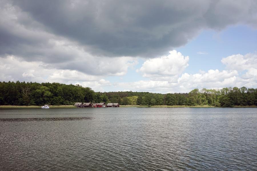 Unterwegs mit dem Hausboot Mecklenburgische Seenplatte