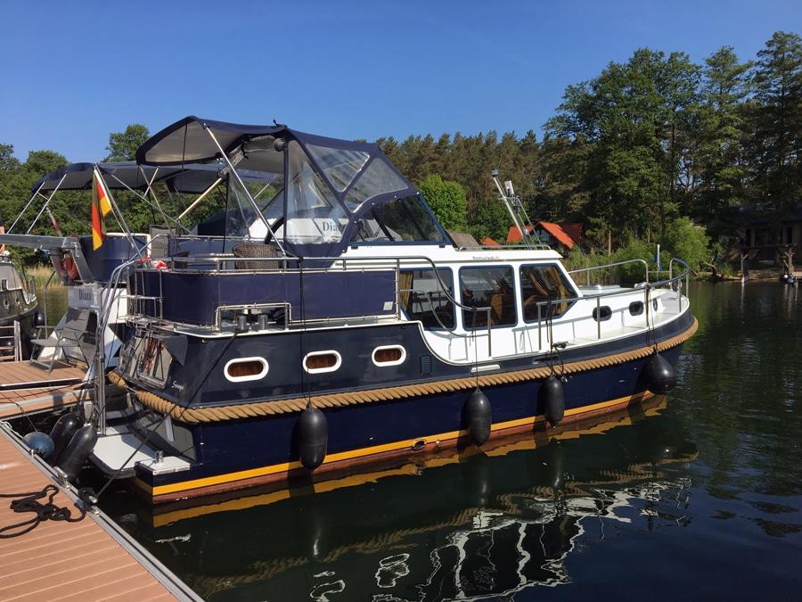 Motorjacht mieten Mecklenburgische Seenplatte