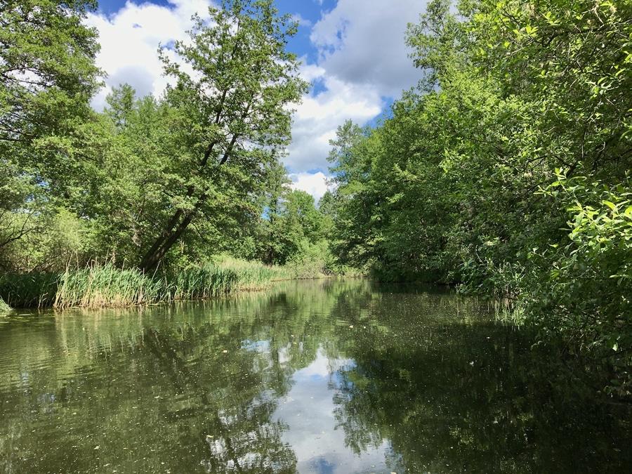 Kanutour Schwaanhavel Mecklenburgische Seenplatte