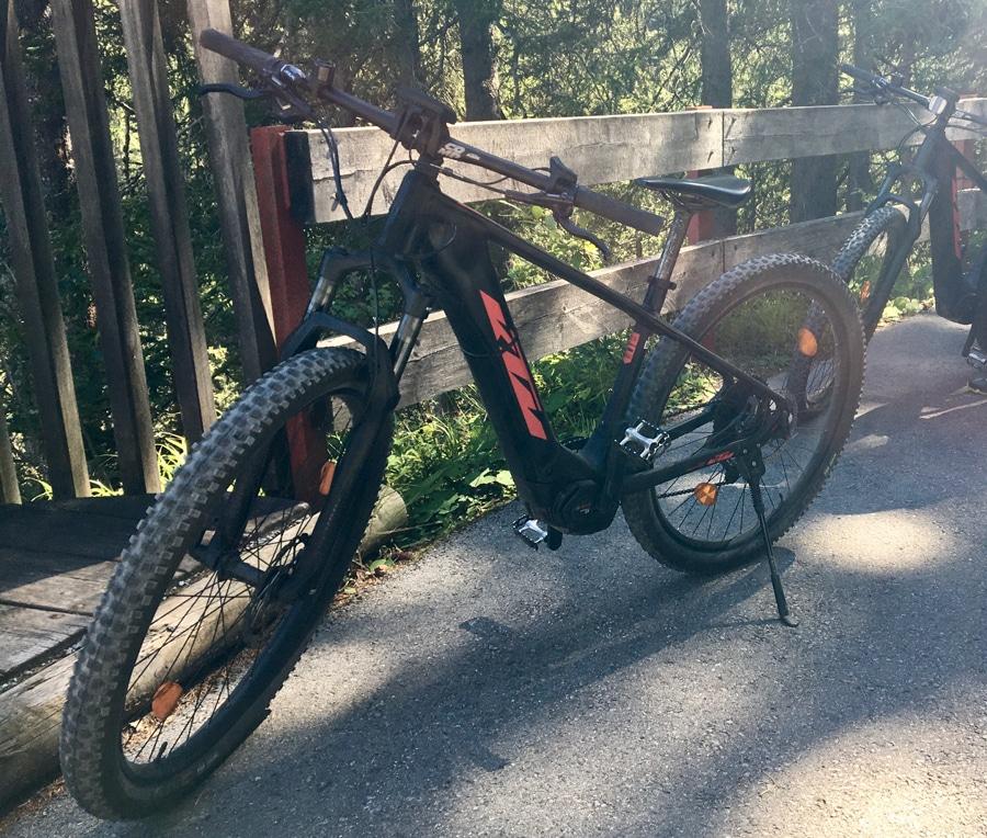 E-Bike Tour in St. Anton am Arlberg