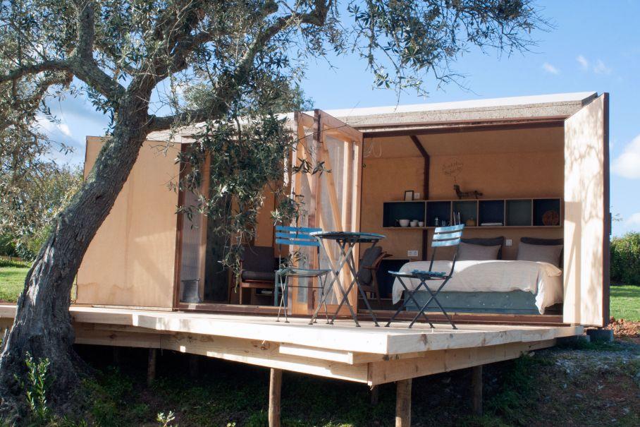 Ferienhaus in der Natur ein Tiny house